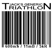 Jacks Generic Triathlon Logo - SPrint Triathlon Austin Texas